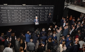 RA President Attends Opening of World Chess Candidates Tournament in Berlin