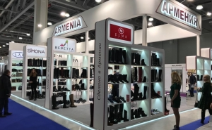 Armenian Shoes Are Presented at the Exhibition in Moscow