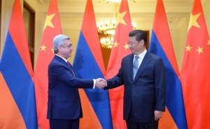 RA President Congratulated His Chinese Counterpart