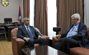 Artsakh Foreign Minister Received Personal Representative of the OSCE Chairperson-in-Office
