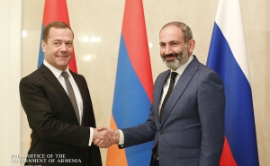 ''Armenian-Russian Relations are Developing Steadily and Dynamically'' - Nikol Pashinyan Meets with Dmitry Medvedev