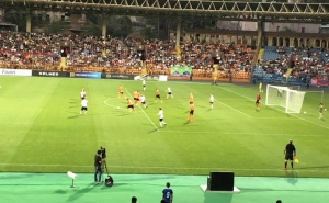 Match between Latin America and Europe Football Legends Kicked off in Yerevan