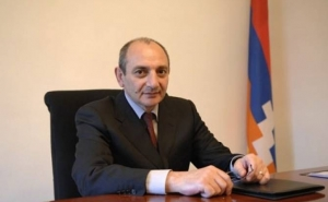 Artsakh's President Sent a Congratulatory Letter to President of the South Ossetian on Independence Day