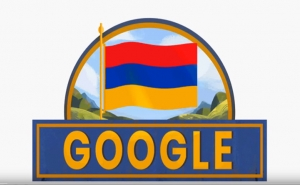 Google Changes Doodle to Mark Armenia's 27th Anniversary of Independence