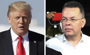 Trump Meets with Freed American Pastor Andrew Brunson