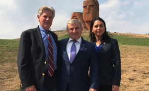 Artsakh Parliament President Sent Congratulatory Letters to the US Congress