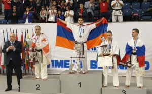Artur Arushanyan from Artsakh Became Four-Time European Champion