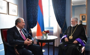 May God Keep and Hold Firm our Homeland: Catholicos Aram I Sends Letter to Armenian President