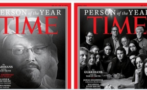 "Saudi Journalist Jamal Khashoggi Is Named ""Person of the Year"""
