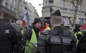 Paris Police Arrest Dozens During Protests