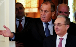 Armenia, Russia FMs Discuss Karabakh Conflict