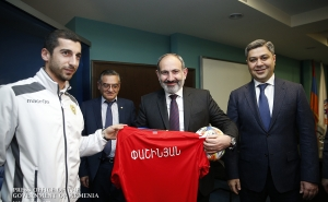 """I Wish You Every Success in Your Mission Because Your Success is the Success of Each One of Us"" - PM Meets with Armenian National Football Team Players"