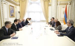 Armenia's Prime Minister Receives First Deputy Mayor of Lyon Georges Kepenekian