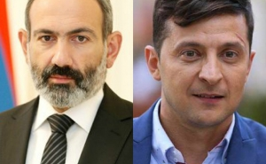 Nikol Pashinyan Congratulates Volodymyr Zelensky on Assuming the Office of President of Ukraine
