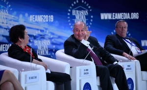 President Armen Sarkissian Made a Statement at the Opening of the Eurasian Media Forum: We Should be Ready for the World We Will Have 20 Years From Now