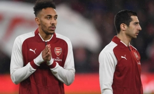 Aubameyang Makes Europa League Promise to Henrikh Mkhitaryan