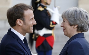 France's Macron Urges Brexit Clarity After May Resignation