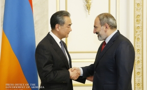 Prime Minister Nikol Pashinyan received China's Minister of Foreign Affairs and State Councilor Wang Yi.