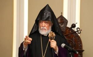 """Armenians Have a Dream of a Complete And United Homeland:"" Aram I, Catholicos of the Great House of Cilicia"