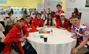 Young Athletes Return From Moscow