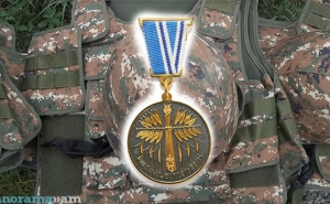 "Artsakh's Defense Army Serviceman Artyom Khachatryan Posthumously Awarded with the ""For Service in Battle"" Medal"