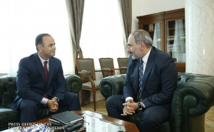 """The Policy of Working with the Diaspora Should be Made More Effective"" - PM Receives Zareh Sinanyan"