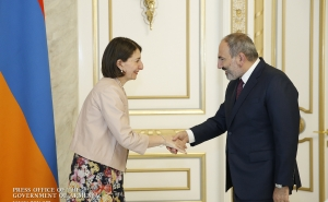 Nikol Pashinyan Hosts Australia's New South Wales Premier Gladys Berejiklian