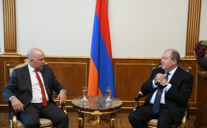 President Armen Sarkissian Held a Farewell Meeting with the Ambassador of Argentine to Armenia