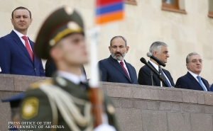 """The Authority of Each Officer Should be Much Greater than that of His Epaulettes""- Nikol Pashinyan Meets with Graduates of Military Educational Institutions"