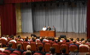 Meeting in the Stepanakert Culture and Youth Palace