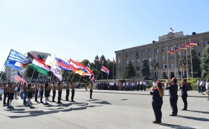 NKR President Bako Sahakyan Participated at the Solemn Ceremony of Founding the Artsakh Affiliate of the Armenian General Gymnastic Union.