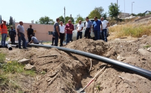 President Sahakyan Visited a Number of Water Supply Facilities in Stepanakert