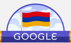Google Changes Doodle to Mark Armenia's 28th Anniversary of Independence
