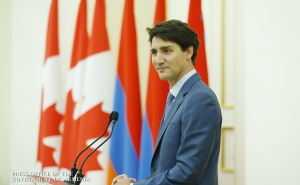 Canada and Armenia Are Bound by Shared Values of Justice: Justin Trudeau