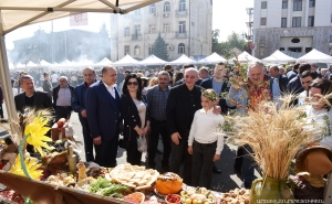 Artsakh President Participated at Harvest Day Trade Fair
