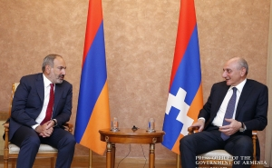 Nikol Pashinyan Met with President of the Artsakh Republic Bako Sahakyan (video)