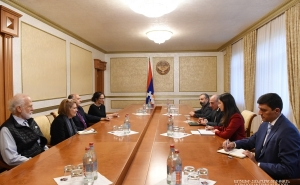 President of Artsakh Holds Meeting with Representatives of Armenian Assembly of America