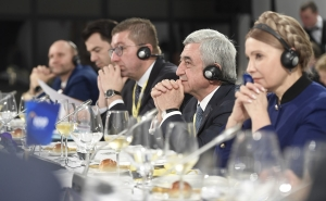 Serzh Sargsyan Attends EPP Summit in Zagreb