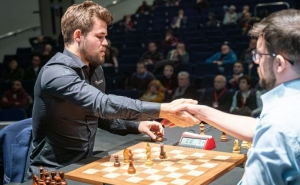 Grand Chess Tour: Aronian vs Carlsen Game Ends in a Draw