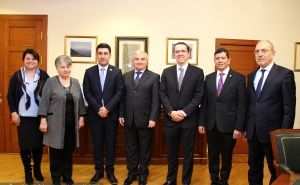 First Vice-President of the Republic of Guatemala Congress Felipe Alejos Lorenzana Hosted in the Artsakh Parliament