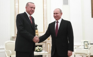 Erdogan Says He Wants to Discuss Situation in Libya with Putin