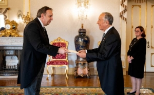 Armenian Ambassador Presents Credentials to President of Portugal