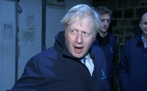 Boris Johnson Hides in Fridge to Avoid Questions as Aide Swears at GMB Reporter (video)