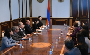 President Sarkissian Hosts UNICEF Armenia Team Representatives