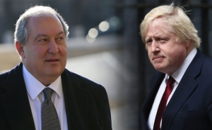 President Sarkissian Sent a Congratulatory Message to the Prime Minister of the United Kingdom of Great Britain and Northern Ireland Boris Johnson