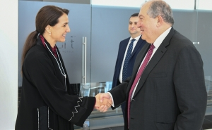 Armenian President Meets With UAE State Minister for Food Security