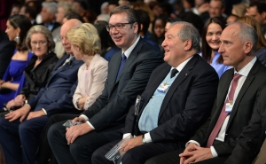 Armen Sarkissian Participated at the Opening of the World Economic Forum in Davos