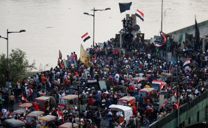 Thousands Rally against US Military Presence in Iraq
