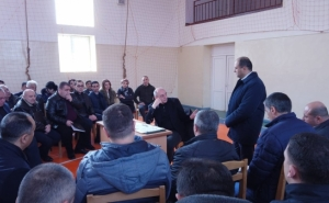 Artsakh Republic President Bako Sahakyan Hold Working Consultation in Karvachar