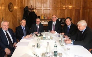 Armenian, Azerbaijani FMs' Meeting in Geneva to Continue Tomorrow